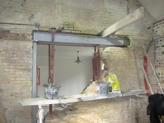 Rejointoiement restauration et modification de faade ancienne brique silex - Cout ouverture mur porteur ...